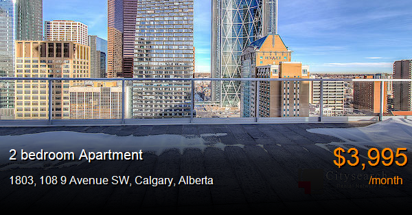 1803, 108 9 Avenue SW, Calgary - Apartment for Rent