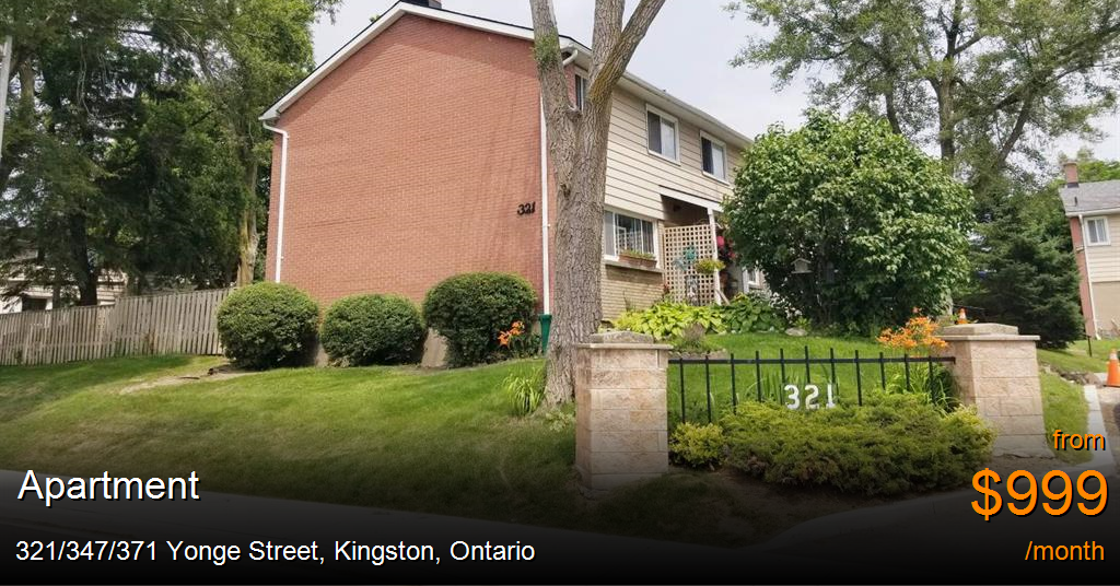 321 347 371 Yonge Street Kingston Apartment For Rent