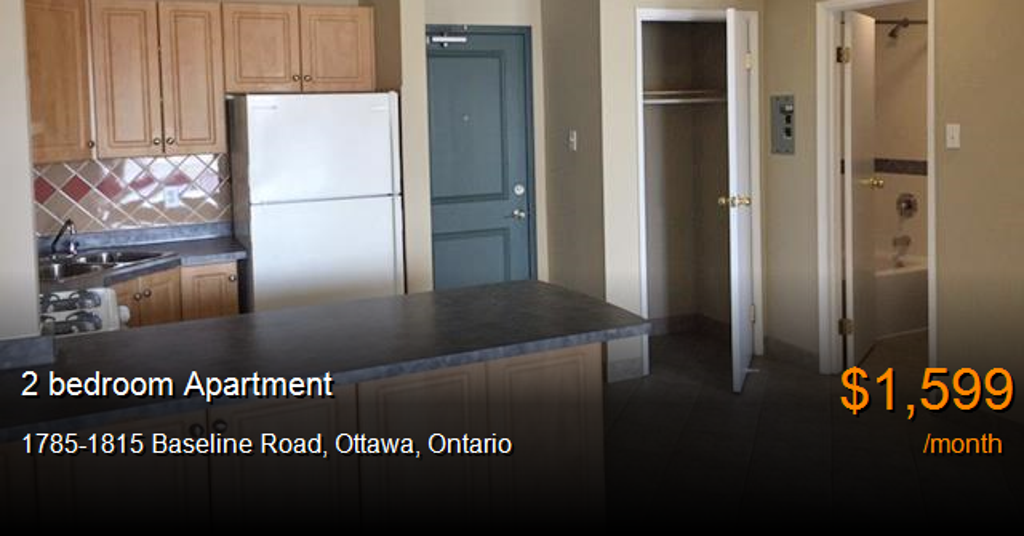 1785 1815 Baseline Road Ottawa Apartment For Rent B10754