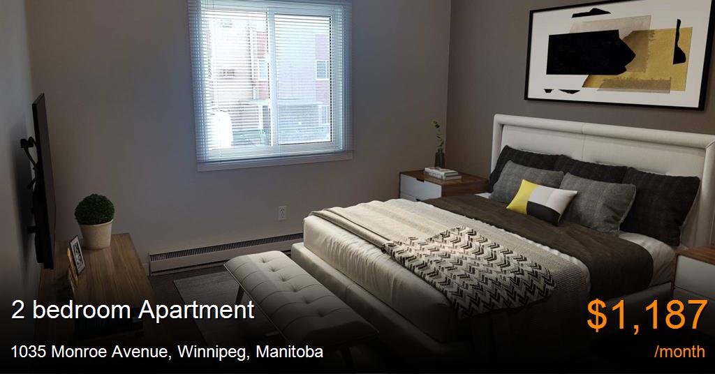 1035 Monroe Avenue Winnipeg Apartment For Rent B109627