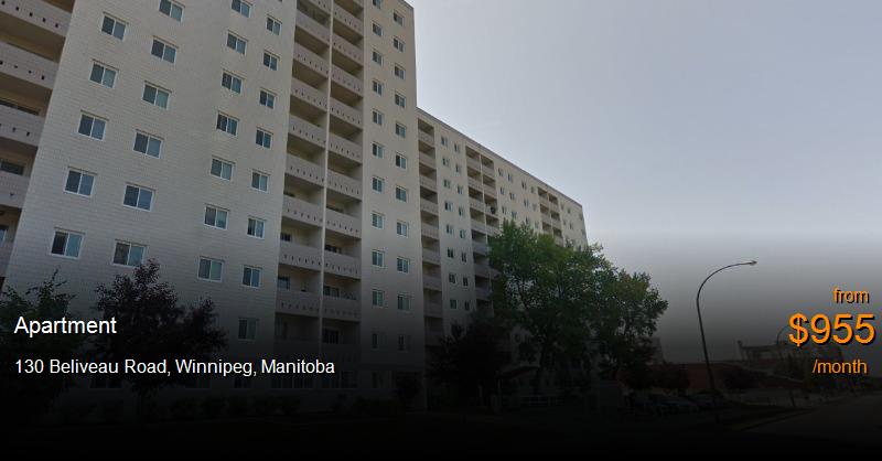 130 Beliveau Road Winnipeg Apartment For Rent B109899