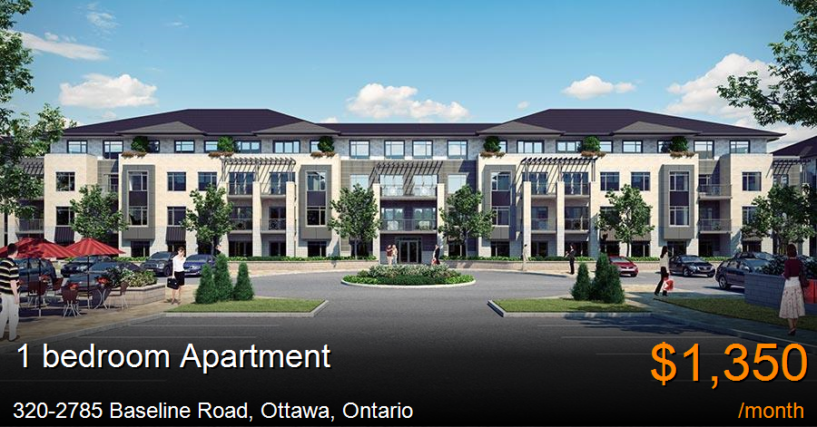320-2785 baseline road, ottawa - Apartment for Rent