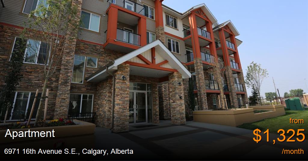 6971 16th Avenue S E Calgary Apartment For Rent B110386