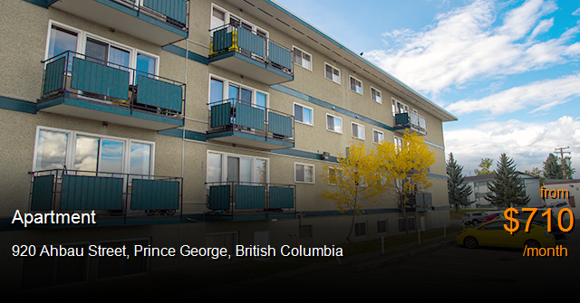 920 ahbau street prince george apartment for rent b114682 for 1 bedroom basement for rent in prince george