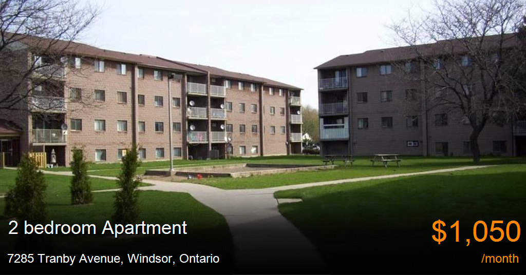 7285 Tranby Avenue, Windsor - Apartment for Rent -B117238