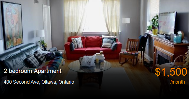 400 Second Ave Ottawa Apartment For Rent B117919