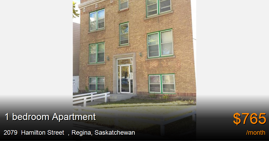 2079 Hamilton Street Regina Apartment For Rent B119824