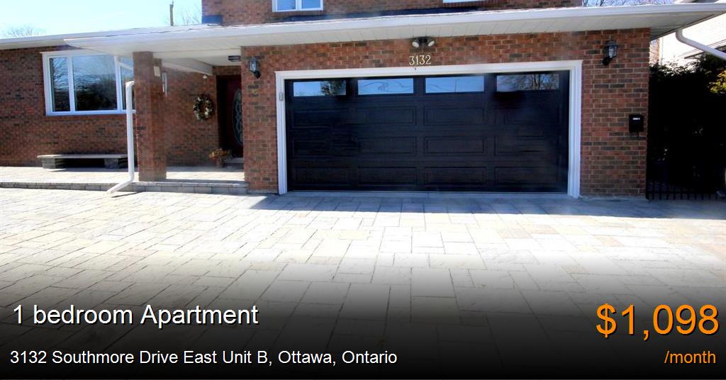 3132 southmore drive east unit b, ottawa - Apartment for Rent