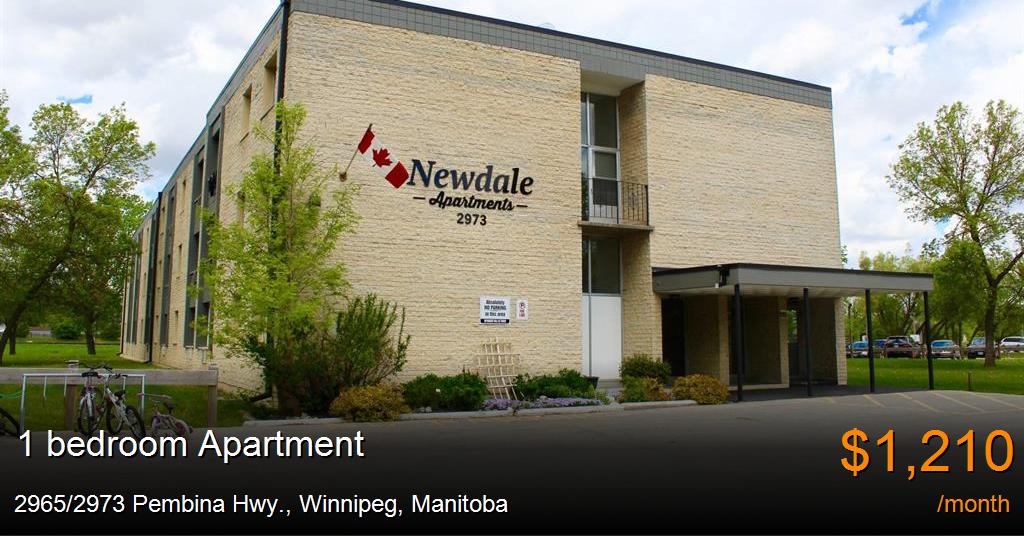 2965 2973 Pembina Hwy Winnipeg Apartment For Rent B125796