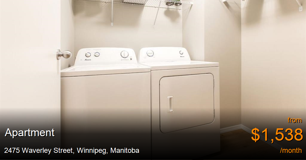 2475 Waverley Street Winnipeg Apartment For Rent B126646