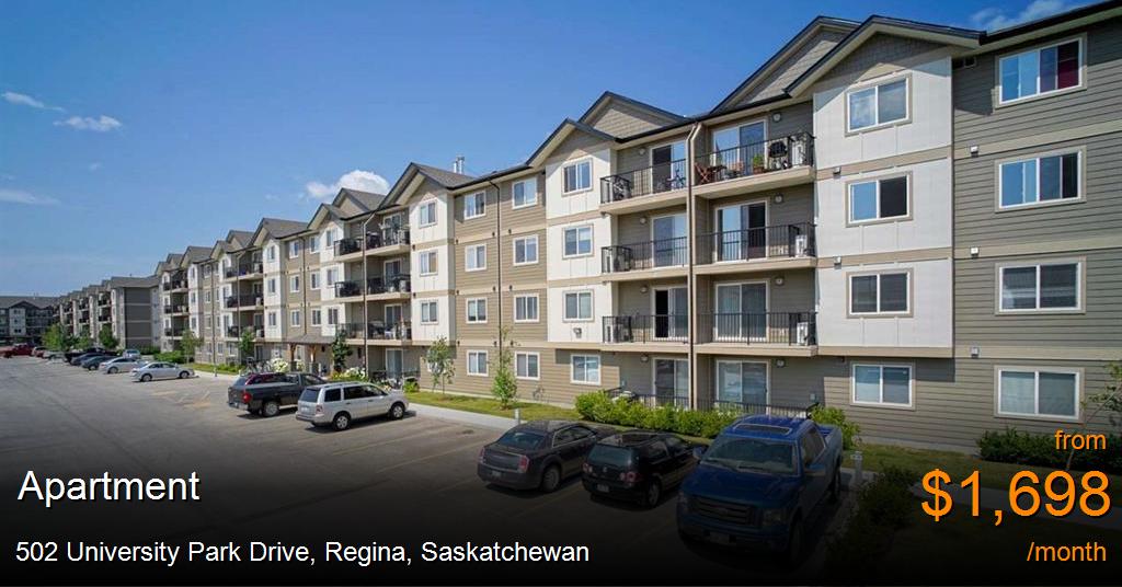 502 University Park Drive, Regina - Apartment for Rent ...