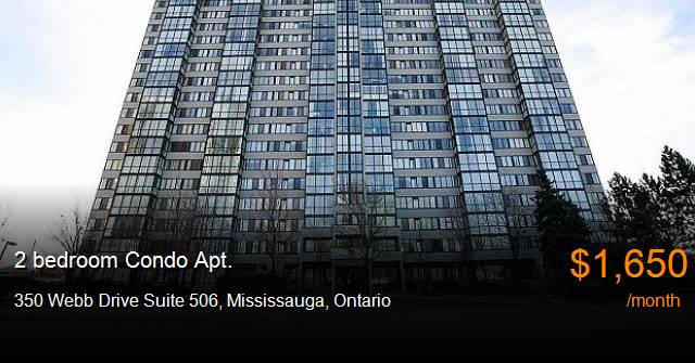 350 webb drive suite 506  mississauga condo apt for