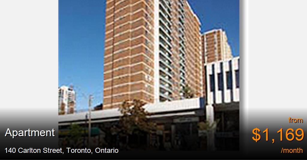 140 Carlton Street Toronto Apartment For Rent B14505