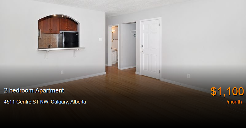 4511 centre st nw, calgary - Apartment for Rent