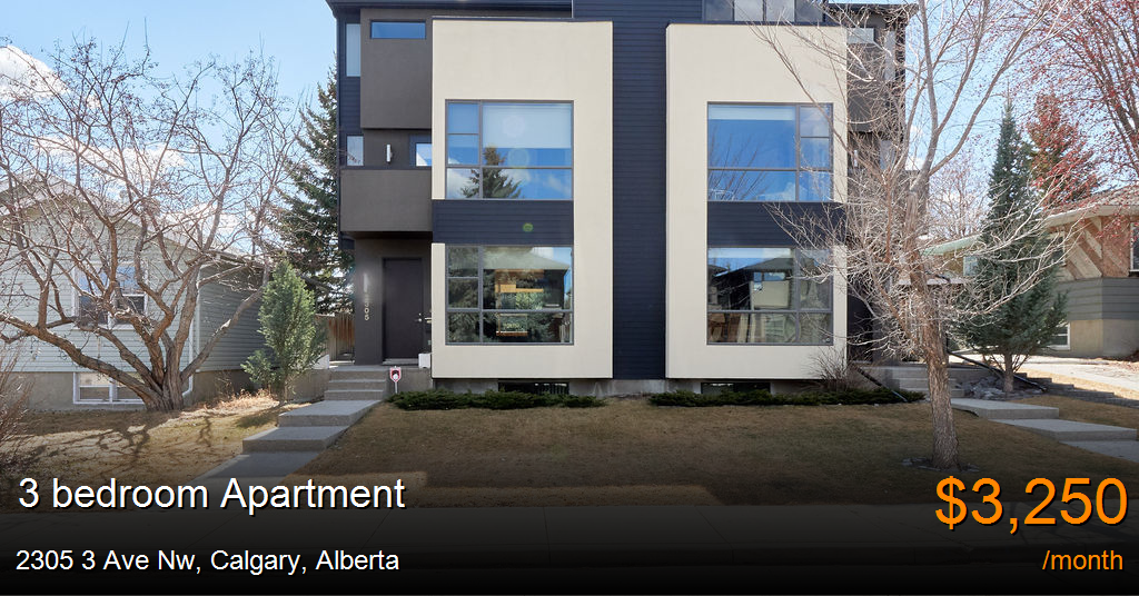 2305 3 ave nw, calgary - Apartment for Rent
