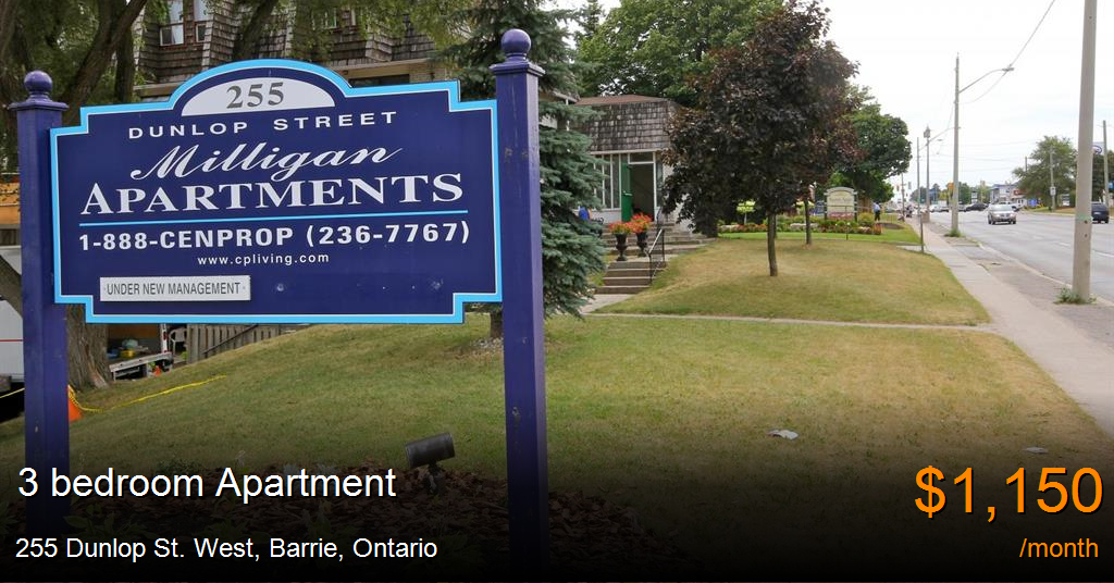255 Dunlop St. West, Barrie - Apartment for Rent -B19419