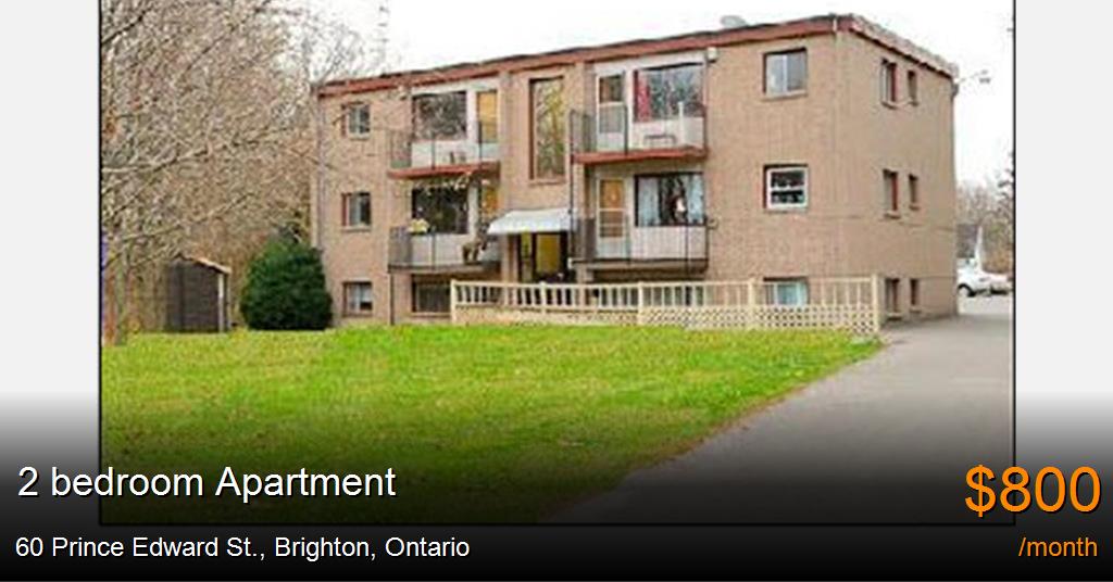 Apartments For Rent In Brighton Ontario