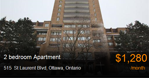 515 St Laurent Blvd Ottawa Apartment For Rent B29436