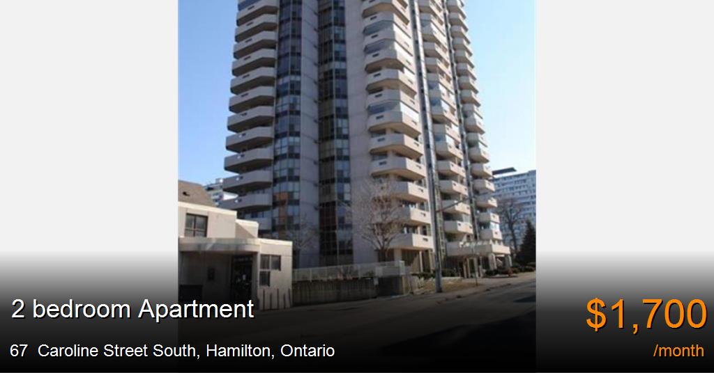 67 Caroline Street South Hamilton Apartment For Rent
