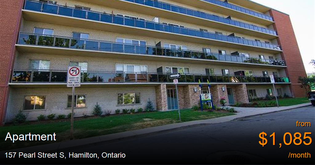 157 Pearl Street S Hamilton Apartment For Rent B37969