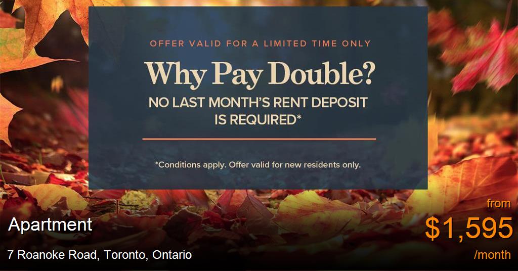 7 Roanoke Road Toronto Apartment For Rent B39708