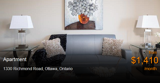 1330 Richmond Road Ottawa Apartment For Rent B42161