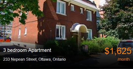 233 Nepean Street Ottawa Apartment For Rent B57315