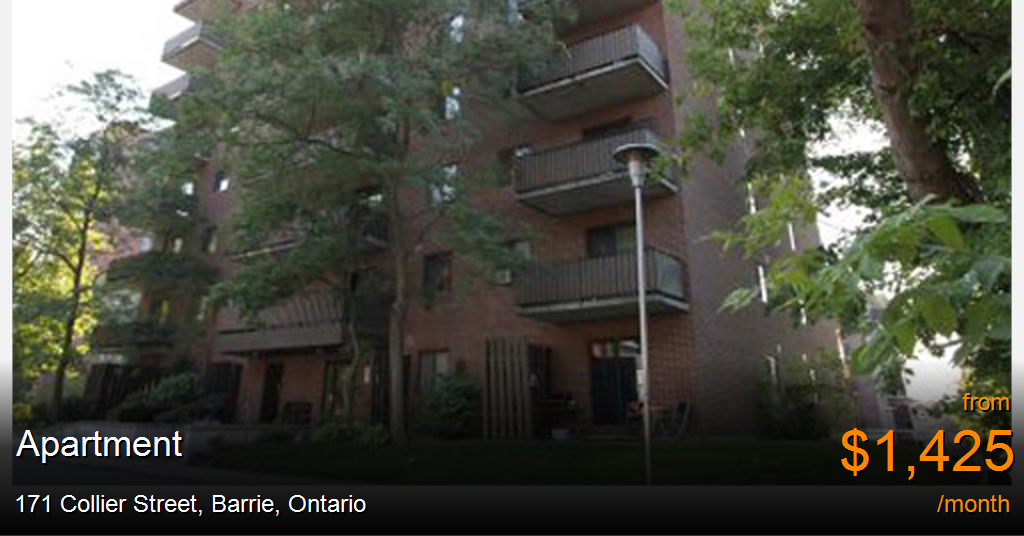171 Collier Street, Barrie - Apartment for Rent
