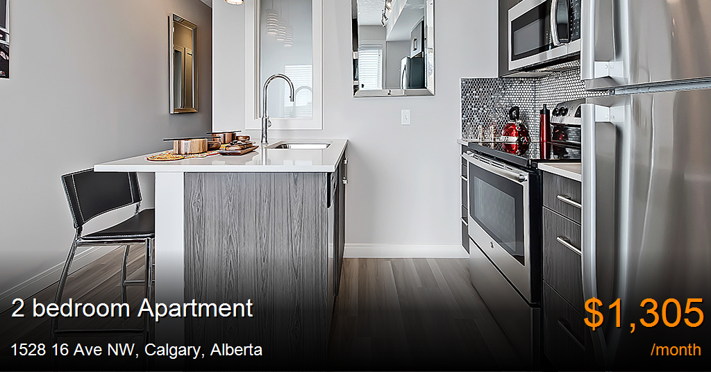 1528 16 Ave NW, Calgary - Apartment for Rent