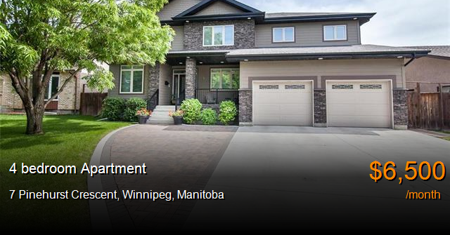 7 Pinehurst Crescent, Winnipeg - Apartment for Rent