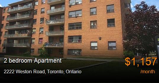 Basement Apartment For Rent Weston Road