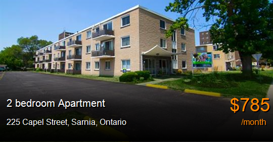 House Apartments For Rent Sarnia